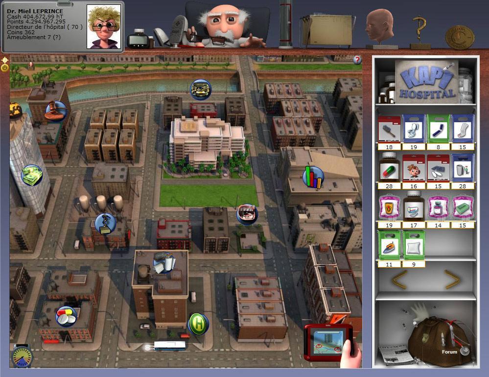 kapi hospital jeux par navigateur d sormais disponible gratuitement sur ton navigateur. Black Bedroom Furniture Sets. Home Design Ideas